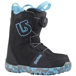Детские сноубордические ботинки BURTON GROM BOA, BLACK - фото 10108