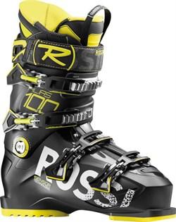 Горнолыжные ботинки Rossignol ALIAS 100, BLACK YELLOW - фото 10308
