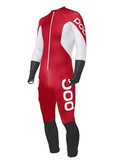 Спусковой костюм POC SKIN GS JR bohrium red/hydrogen white - фото 10313