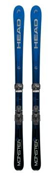 Горные лыжи HEAD Monster 83 Ti  + ATTACK² 13 GW BRAKE 85 [A] (310867+114129), black/metalic - фото 10350