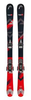Детские лыжи Head The Jr. Caddy SW + SX 7.5 AC BRAKE 90 [J] (314067+114083), black/red - фото 10352
