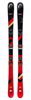 Горные лыжи Head The Caddy SW + ATTACK² 11 GW BRAKE 90 [L] (311527+114141), black/red - фото 10353
