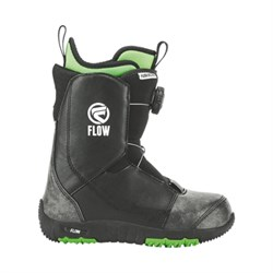 Детские сноубордические ботинки Flow Micron BOA, Black - фото 10408