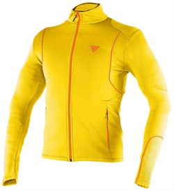 Мужской флис Dainese Thermal Man Full Zip E1	Lemon-Chrome/Autumn-Glory - фото 10575