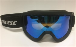 Горнолыжная маска DAINESE FREQUENCY GOGGLES BLACK/BLUE-STEEL - фото 10585