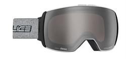Горнолыжная маска Salice w. Coffre & Spare Lens BLACK-BLOCK/RADIUM + SONAR, 605DARWF - фото 10636
