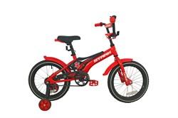 Детский велосипед Stark Tanuki 16 Boy black-red - фото 10677