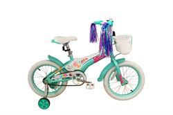 Детский велосипед Stark Tanuki 16 Girl blue-pink - фото 10678