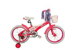 Детский велосипед  Stark Tanuki 18 Girl pink-white - фото 10680