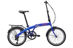 Складной велосипед Stark Jam 20.1 V, тёмно-синий/красный/голубой - фото 10682