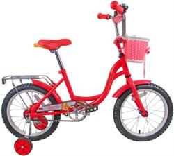 """Детский велосипед Bravo Girl 16"""", розовый - фото 10699"""