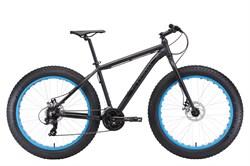 Горный велосипед Stark Fat 26.2 D, чёрный/голубой - фото 10702