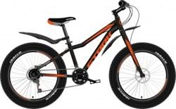 Горный велосипед (фетбайк) Stark Rocket Fat 20.1 D чёрный/оранжевый - фото 10709