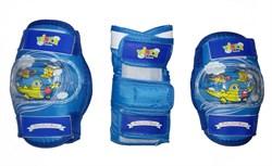 Комплект детской защиты 3 в 1 Vinca VP 32, blue - фото 10718