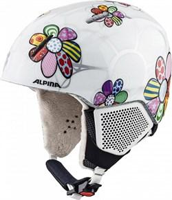 Горнолыжный шлем Alpina CARAT LX, patchwork-flower - фото 10797