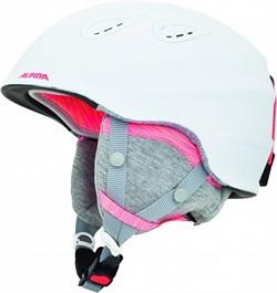 Шлем Alpina GRAP 2.0 JR white-flamingo matt - фото 10960