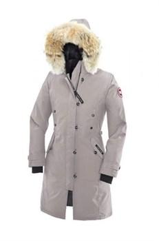 Женская куртка Canada Goose Kensington Parka, Silverbirch - фото 4001
