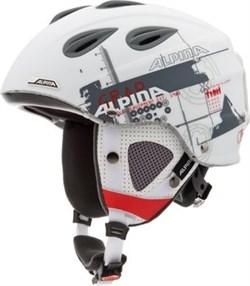 AlpinaGRAPWhite Grey Red Matt  (распродано) - фото 4026