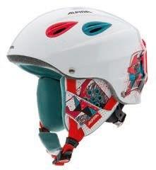AlpinaGRAP Junior White Red Green (распродано) - фото 4036