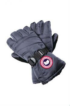 Canada Goose Down Gloves, Mid Grey					 - фото 4991