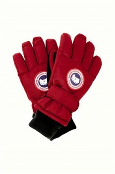 Юниорские перчатки Canada Goose Youth Down, Glove Red - фото 5811