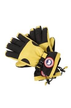 Мужские пуховые перчатки Canada Goose Utility, Yellow/Black - фото 7574