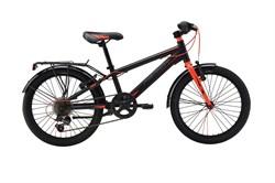 Детский велосипед Merida Dino J20 6 spd Matt black/red (30489) - фото 8997
