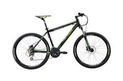 Горный велосипед Merida Big.Nine 20-D Matt Black (Green) - фото 9008