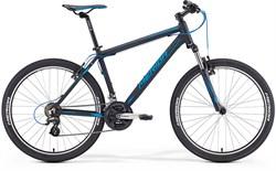 Горный велосипед Merida Matts 6.10-V matt black (blue) - фото 9125
