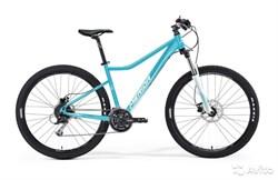 Женский велосипед Merida Juliet 6.20-D Matt Blue (White) (30641) - фото 9787