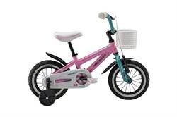 Детский велосипед Merida Princess J12 Pink/blue (30502) - фото 9788