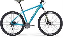 Горный велосипед Merida Big.Nine 300 Matt-Blue(Green/Black)  - фото 9834