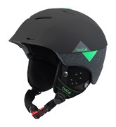 Горнолыжный шлем Bolle SYNERGY, SOFT BLACK/GREEN