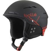 Горнолыжный шлем Bolle B-FUN, SOFT BLACK/RED