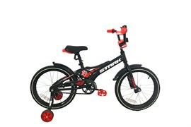 Детский велосипед  Stark Tanuki 18 Boy red-black