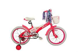 Детский велосипед  Stark Tanuki 18 Girl pink-white