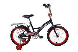"""Детский велосипед Bravo Boy 18"""", чёрный/красный/белый"""