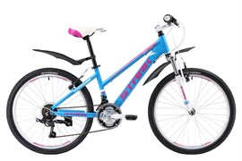 Велосипед Stark Bliss 24.1 V белый/розовый/голубой