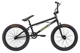 Трюковой велосипед Stark Madness BMX 1, чёрный/жёлтый/белый