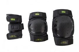 Комплект защиты 3 в 1 Vinca VP 32 adult, black