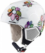 Горнолыжный шлем Alpina CARAT LX, patchwork-flower