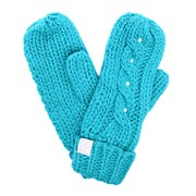 ROXYSHOOTING STAR MITTENS, TURQUOISE