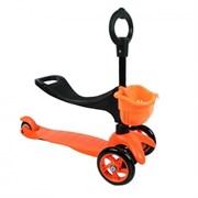 Детский самокат Explore SADDLER, Orange (3 in 1)