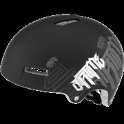 Парковый шлем Alpina AIRTIME, BLACK-WHITE MATT