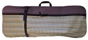Чехол-рюкзак для самоката ST 3, бордовый клетка