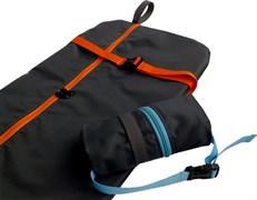 Чехол-рюкзак для самоката ST 13, черный с оранжевым