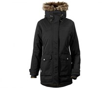 Женская куртка Didriksons SHELTER (060, чёрный)