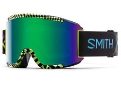 Горнолыжная маска Smith Squad, neon blacklight