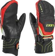 Варежки Leki WORLDCUP RACE FLEX S JUNIOR MITT, black-red-white-yellow