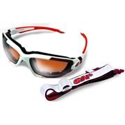 Очки SH+ RG 4001 white/red